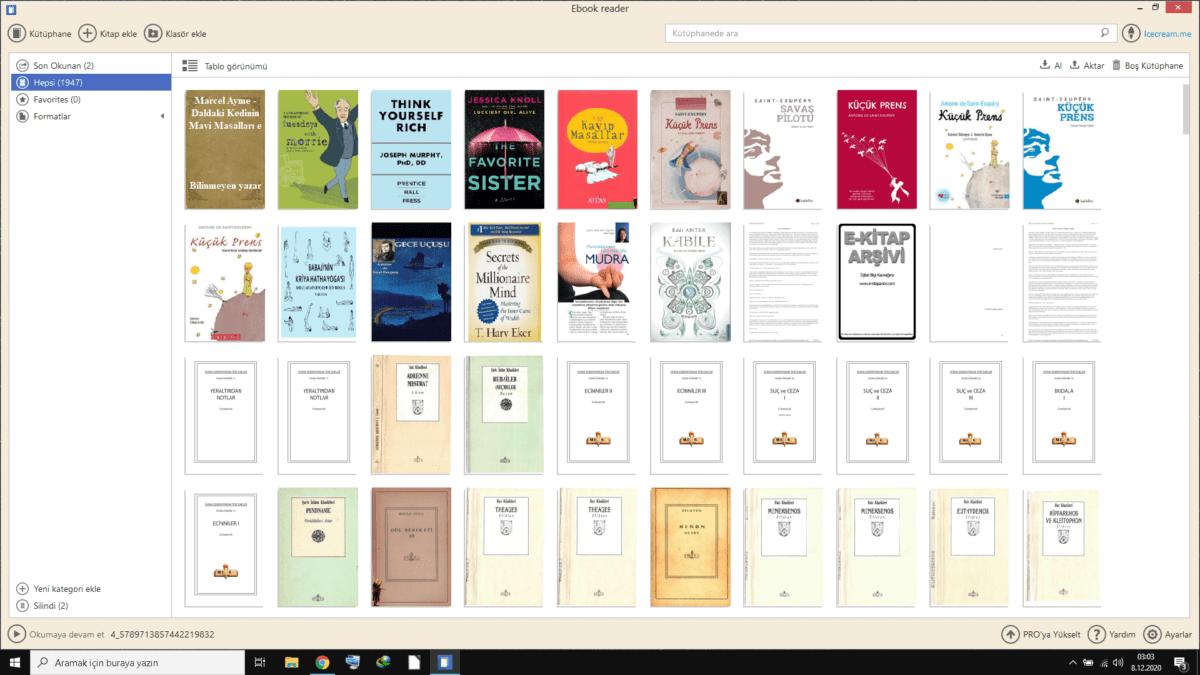 Thinpo - En İyi, Ücretsiz E-Kitap Okuma Programları