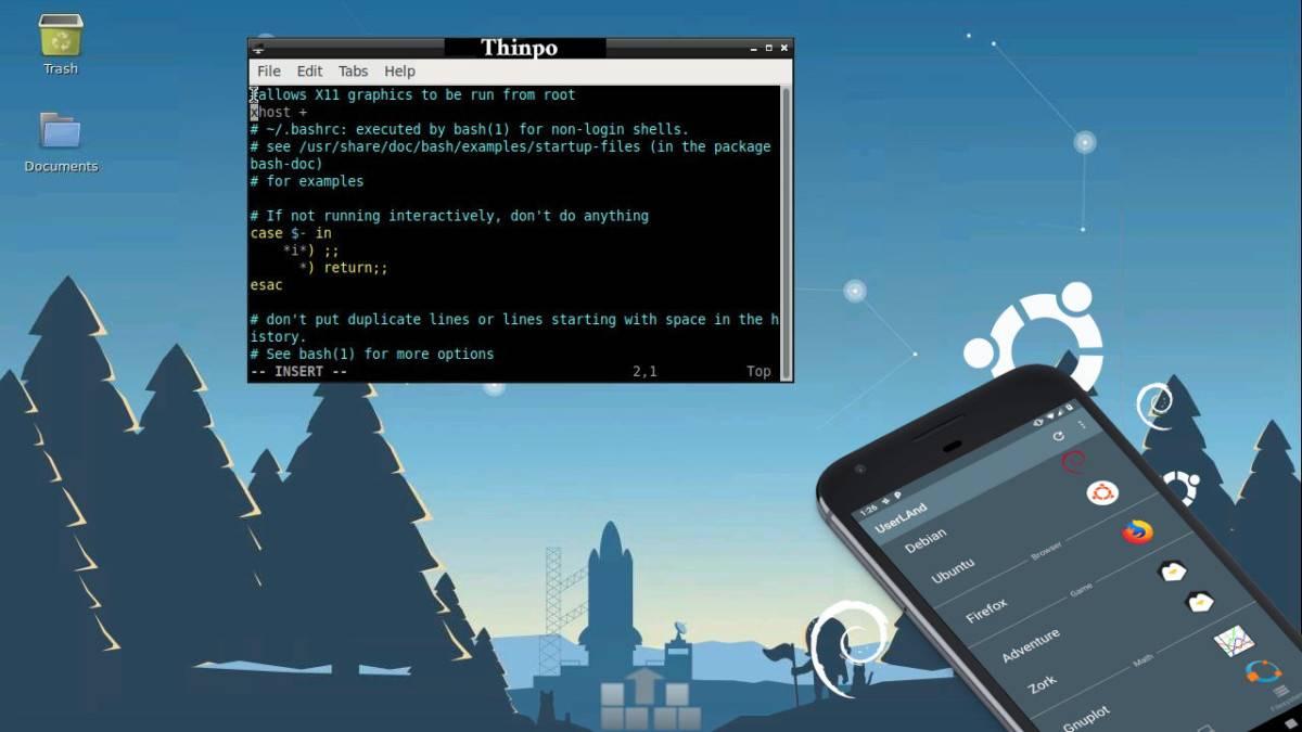 Thinpo - Android Telefona Linux İşletim Sistemi Nasıl Kurulur - (Root'suz)