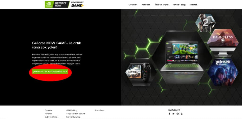 Thinpo - GeForce Now, Powered By Game Plus İle Türkiye'de!