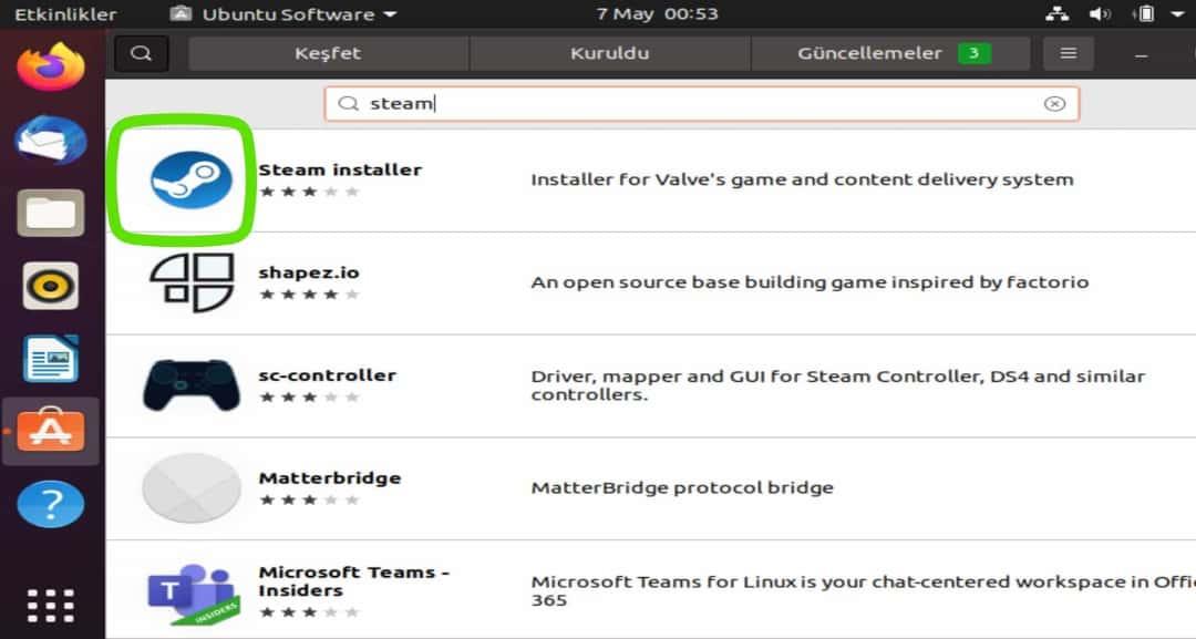 Thinpo - Ubuntu'ya Steam Kurma ve Linux Oyun Rehberi